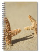 Seastars On Beach Spiral Notebook