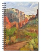 Sedona Afternoon Spiral Notebook