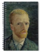 Self-portrait Paris July  August 1887 Vincent Van Gogh 1853  1890  Spiral Notebook