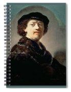 Self-portrait Rembrandt Harmenszoon Van Rijn Spiral Notebook