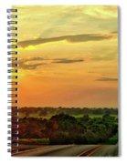 Setting Sun Spiral Notebook