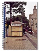 Sevilla-90 Spiral Notebook