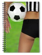 Sexy Referee Spiral Notebook