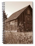 Shack At Stoney Point Spiral Notebook