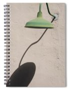 Shadow Lamp Spiral Notebook