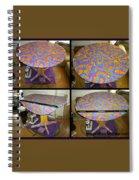 Sharpie Star Table Spiral Notebook