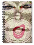 She Sings Spiral Notebook