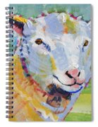 Sheep Head Spiral Notebook