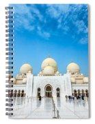 Sheikh Zayed Grand Mosque Spiral Notebook