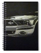 Shelby Mustang Front  Spiral Notebook