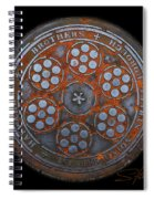 Shield Spiral Notebook