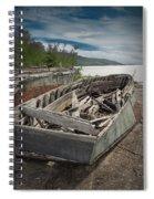 Shipwreck At Neys Provincial Park Spiral Notebook