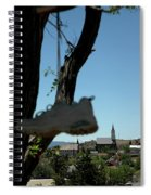 Shoe Tree Virginia City Nevada Spiral Notebook