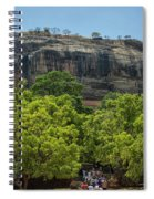 Sigiriya Rock Spiral Notebook