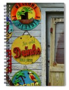 Signs Of Time Spiral Notebook