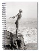 Silent Still: Bather Spiral Notebook
