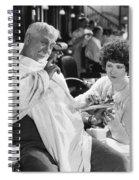 Silent Still: Beauty Salon Spiral Notebook