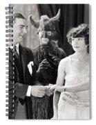 Silent Still: Couples Spiral Notebook