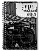Sin Tatt Auto Works Spiral Notebook