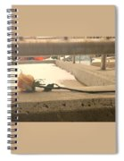1 Single Lonely Rose Spiral Notebook