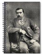 Sir Arthur Conan Doyle, 1859   1930 Spiral Notebook