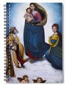 Sistine Madonna Spiral Notebook