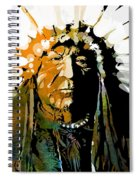 Sitting Bear Spiral Notebook