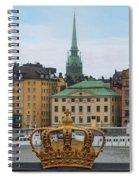 Skeppsholmsbron - Stockholm Spiral Notebook