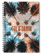 Skies Of California Spiral Notebook