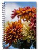 Sky Flowers Spiral Notebook