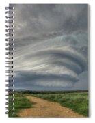 Sky Monster Spiral Notebook
