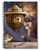 Smokey Spiral Notebook