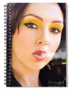 Smoking Spiral Notebook