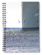Smooth Sailing  Spiral Notebook
