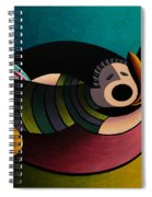 Snoring Spiral Notebook