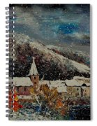 Snow In Bohan Spiral Notebook