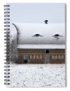 Snow On The Roof Spiral Notebook