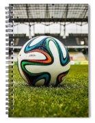 Soccer Spiral Notebook