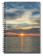 Soft Light Spiral Notebook