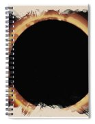 Solar Eclipse 2017 3 Spiral Notebook