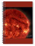 Solar Filament Spiral Notebook