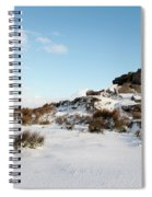 South Hessary Tor In The Snow II Spiral Notebook