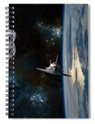 Space Rescue Spiral Notebook