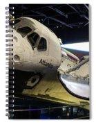Space Shuttle Atlantis Spiral Notebook