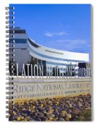 Spallation Neutron Source Spiral Notebook