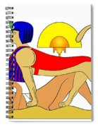 Sphinx And Failed Puzzler Spiral Notebook