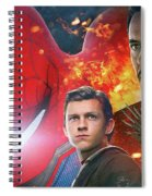 Spider-man Homecoming Spiral Notebook
