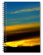 Spokane Sunrise Spiral Notebook