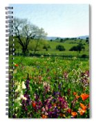 Spring Bouquet At Rusack Vineyards Spiral Notebook