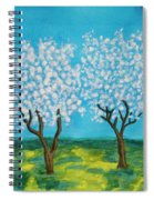Spring Garden, Painting Spiral Notebook